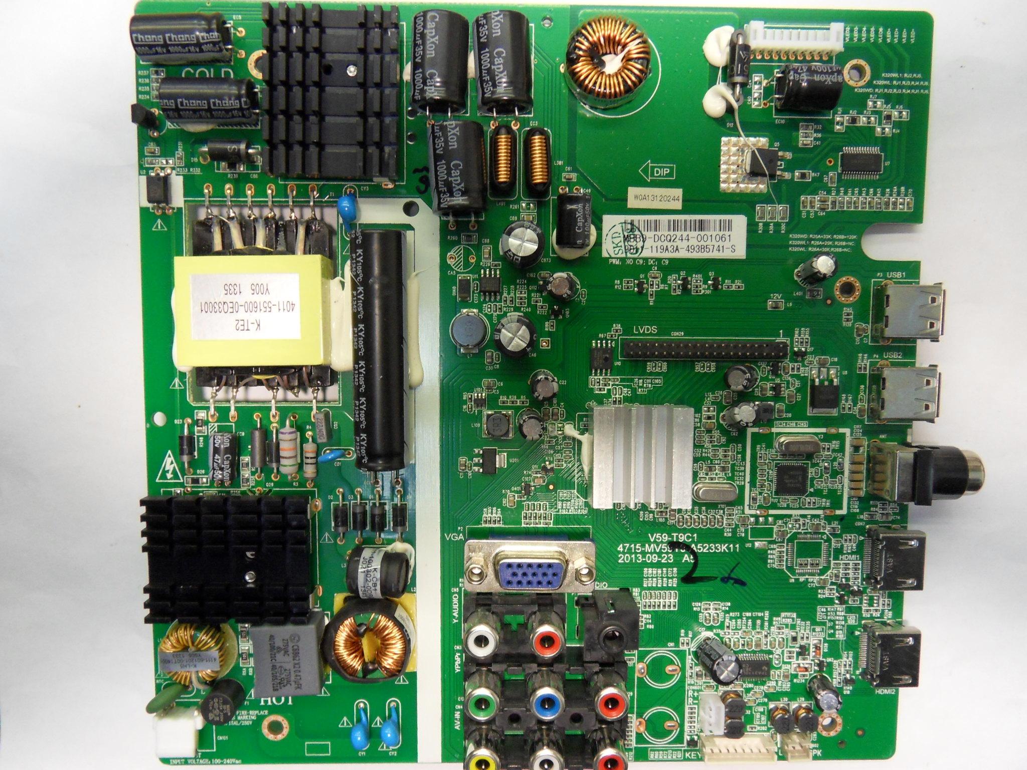 China Led Tv Firmware V59- T9c1